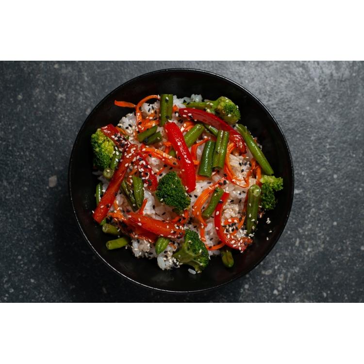 Тяхан с овощами