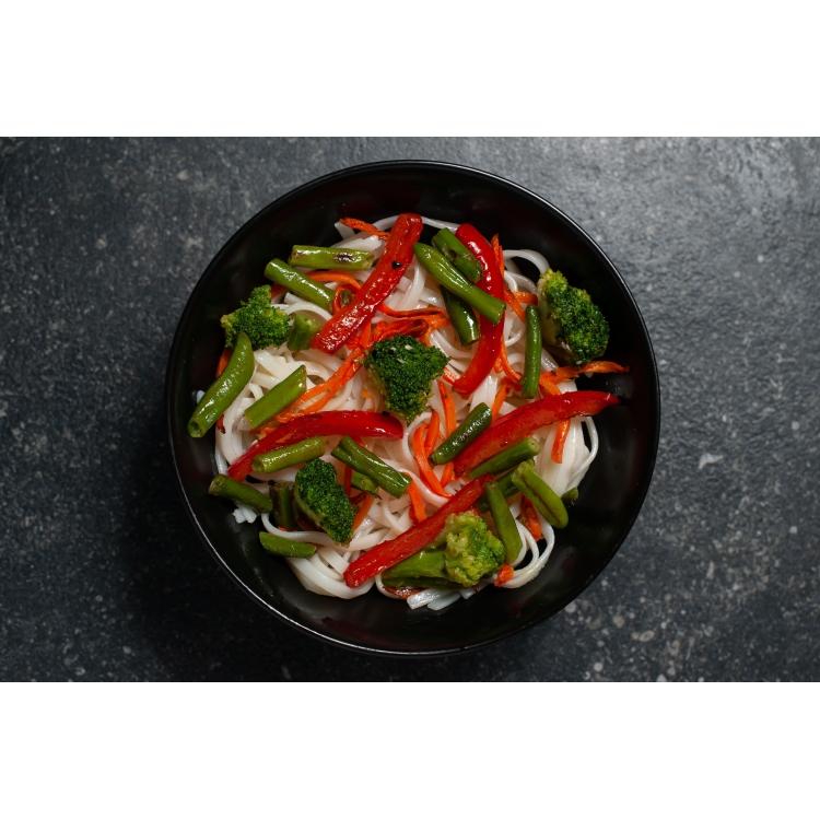 Удон с овощами